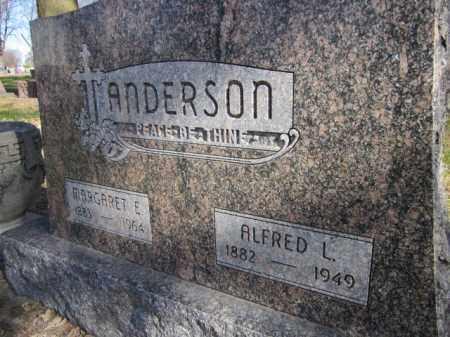 ANDERSON, ALFRED L. - Saunders County, Nebraska | ALFRED L. ANDERSON - Nebraska Gravestone Photos