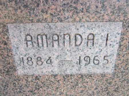 ANDERSON, AMANDA I. (CLOSE UP) - Saunders County, Nebraska | AMANDA I. (CLOSE UP) ANDERSON - Nebraska Gravestone Photos