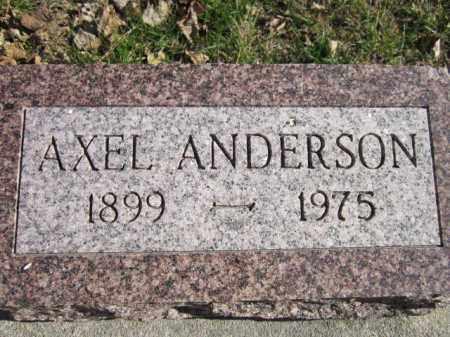 ANDERSON, AXEL - Saunders County, Nebraska | AXEL ANDERSON - Nebraska Gravestone Photos