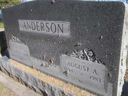 ANDERSON, AUGUST A. - Saunders County, Nebraska | AUGUST A. ANDERSON - Nebraska Gravestone Photos