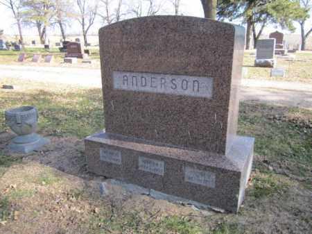 ANDERSON, ARCHIE N. - Saunders County, Nebraska | ARCHIE N. ANDERSON - Nebraska Gravestone Photos