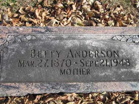 ANDERSON, BETTY - Saunders County, Nebraska | BETTY ANDERSON - Nebraska Gravestone Photos