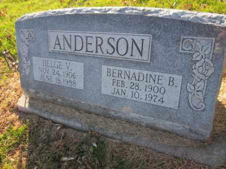 ANDERSON, BERNADINE B. - Saunders County, Nebraska | BERNADINE B. ANDERSON - Nebraska Gravestone Photos