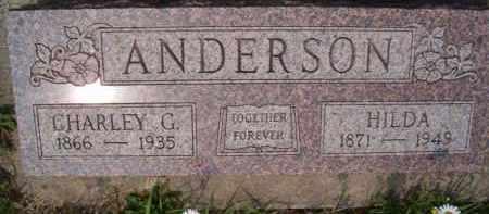 ANDERSON, CHARLEY G - Saunders County, Nebraska | CHARLEY G ANDERSON - Nebraska Gravestone Photos