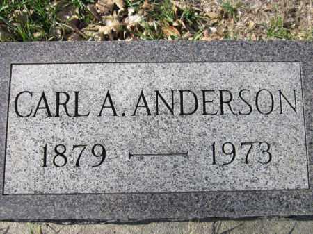 ANDERSON, CARL A. - Saunders County, Nebraska | CARL A. ANDERSON - Nebraska Gravestone Photos