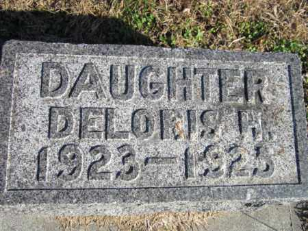 ANDERSON, DELORIS H. - Saunders County, Nebraska   DELORIS H. ANDERSON - Nebraska Gravestone Photos