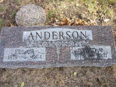 ANDERSON, EDLA A. - Saunders County, Nebraska | EDLA A. ANDERSON - Nebraska Gravestone Photos