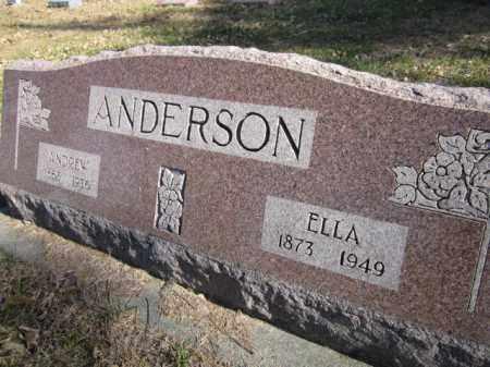 ANDERSON, ELLA - Saunders County, Nebraska | ELLA ANDERSON - Nebraska Gravestone Photos