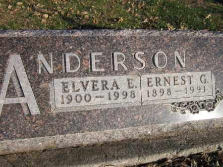 ANDERSON, ERNEST G. - Saunders County, Nebraska | ERNEST G. ANDERSON - Nebraska Gravestone Photos