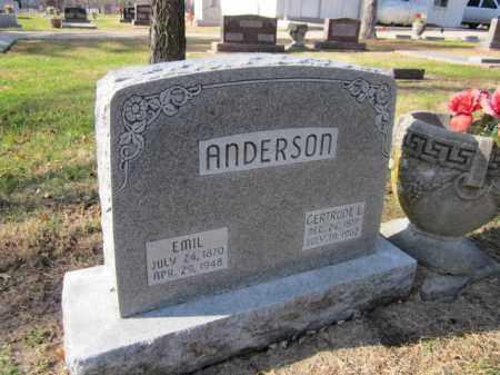 ANDERSON, EMIL - Saunders County, Nebraska   EMIL ANDERSON - Nebraska Gravestone Photos