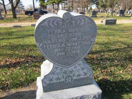 ANDERSON, FERN A. - Saunders County, Nebraska | FERN A. ANDERSON - Nebraska Gravestone Photos