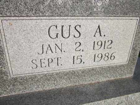 ANDERSON, GUS A. (CLOSE UP) - Saunders County, Nebraska | GUS A. (CLOSE UP) ANDERSON - Nebraska Gravestone Photos