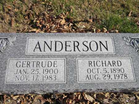 ANDERSON, RICHARD - Saunders County, Nebraska | RICHARD ANDERSON - Nebraska Gravestone Photos
