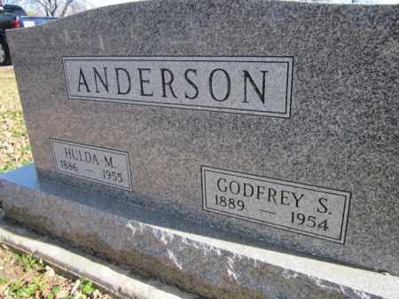 ANDERSON, GODFREY S. - Saunders County, Nebraska   GODFREY S. ANDERSON - Nebraska Gravestone Photos