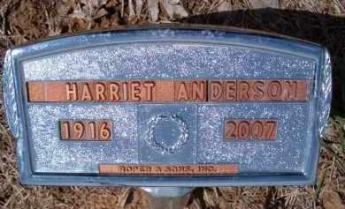 ANDERSON, HARRIET - Saunders County, Nebraska | HARRIET ANDERSON - Nebraska Gravestone Photos