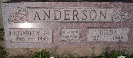 ANDERSON, HILDA - Saunders County, Nebraska | HILDA ANDERSON - Nebraska Gravestone Photos
