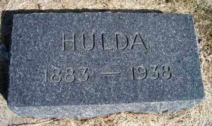 ANDERSON, HULDA - Saunders County, Nebraska   HULDA ANDERSON - Nebraska Gravestone Photos