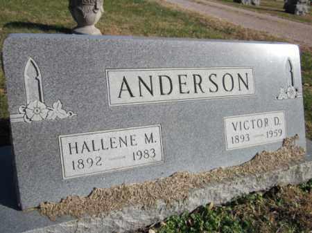 ANDERSON, HALLENE M. - Saunders County, Nebraska | HALLENE M. ANDERSON - Nebraska Gravestone Photos
