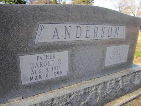 ANDERSON, HAROLD R. - Saunders County, Nebraska | HAROLD R. ANDERSON - Nebraska Gravestone Photos