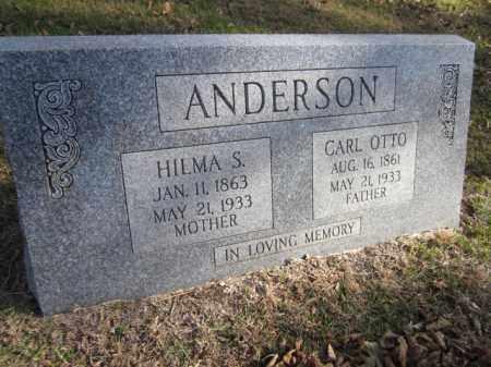 ANDERSON, HILMA S. - Saunders County, Nebraska   HILMA S. ANDERSON - Nebraska Gravestone Photos
