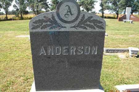 ANDERSON HEADSTONE, KENNETH - Saunders County, Nebraska   KENNETH ANDERSON HEADSTONE - Nebraska Gravestone Photos