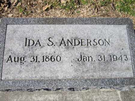 ANDERSON, IDA S. - Saunders County, Nebraska   IDA S. ANDERSON - Nebraska Gravestone Photos