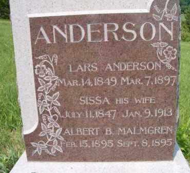 ANDERSON, LARS - Saunders County, Nebraska | LARS ANDERSON - Nebraska Gravestone Photos