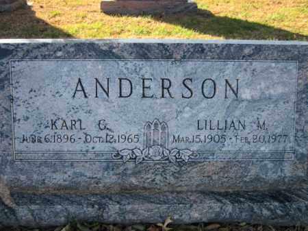 ANDERSON, LILLIAN M. - Saunders County, Nebraska | LILLIAN M. ANDERSON - Nebraska Gravestone Photos