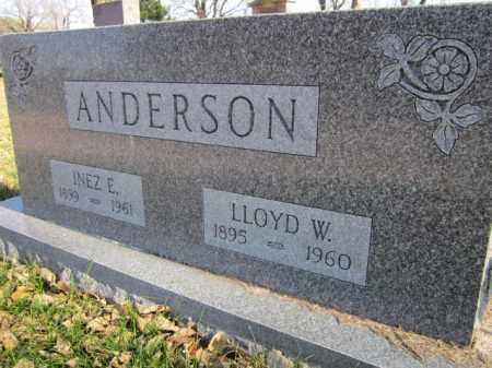 ANDERSON, LLOYD W. - Saunders County, Nebraska | LLOYD W. ANDERSON - Nebraska Gravestone Photos