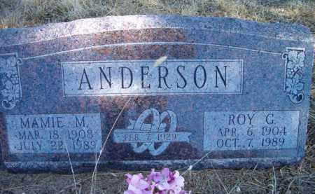 ANDERSON, MAMIE M - Saunders County, Nebraska | MAMIE M ANDERSON - Nebraska Gravestone Photos