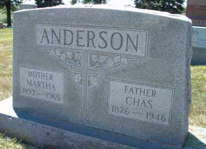 ANDERSON, CHAS. - Saunders County, Nebraska | CHAS. ANDERSON - Nebraska Gravestone Photos