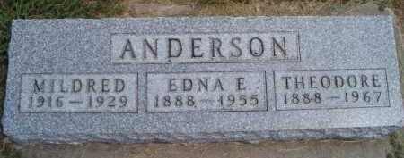 ANDERSON, THEODORE - Saunders County, Nebraska | THEODORE ANDERSON - Nebraska Gravestone Photos