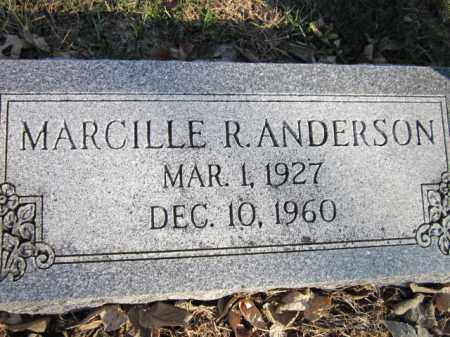 ANDERSON, MARCILLE R. - Saunders County, Nebraska | MARCILLE R. ANDERSON - Nebraska Gravestone Photos