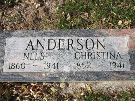 ANDERSON, CHRISTINA - Saunders County, Nebraska | CHRISTINA ANDERSON - Nebraska Gravestone Photos