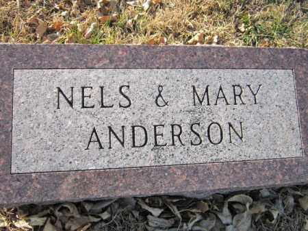ANDERSON, MARY - Saunders County, Nebraska | MARY ANDERSON - Nebraska Gravestone Photos