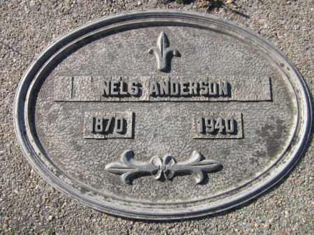 ANDERSON, NELS - Saunders County, Nebraska | NELS ANDERSON - Nebraska Gravestone Photos