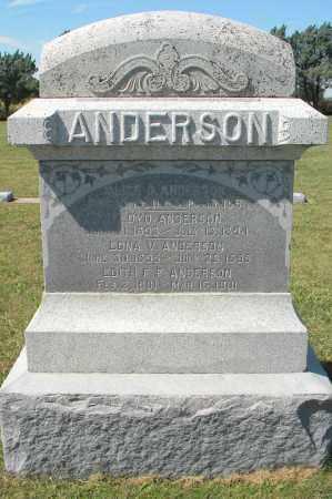 ANDERSON, OSCAR - Saunders County, Nebraska   OSCAR ANDERSON - Nebraska Gravestone Photos