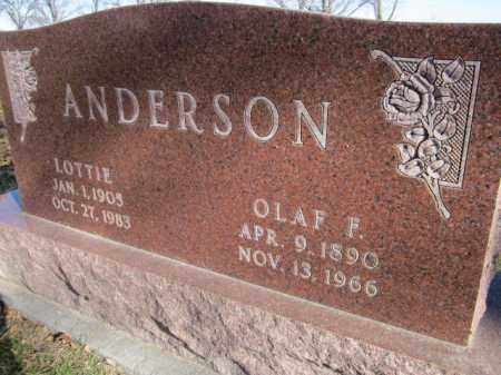 ANDERSON, OLAF F. - Saunders County, Nebraska   OLAF F. ANDERSON - Nebraska Gravestone Photos