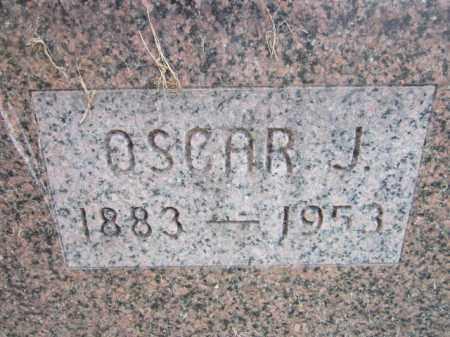 ANDERSON, OSCAR J. (CLOSE UP) - Saunders County, Nebraska | OSCAR J. (CLOSE UP) ANDERSON - Nebraska Gravestone Photos