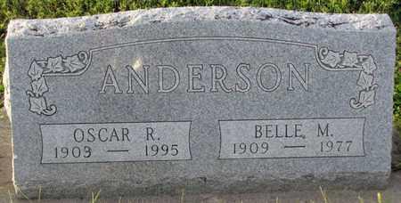 ANDERSON, BELLE M. - Saunders County, Nebraska   BELLE M. ANDERSON - Nebraska Gravestone Photos