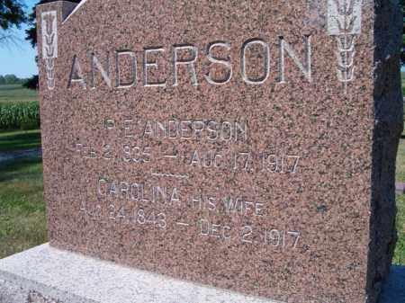 ANDERSON, P E - Saunders County, Nebraska | P E ANDERSON - Nebraska Gravestone Photos