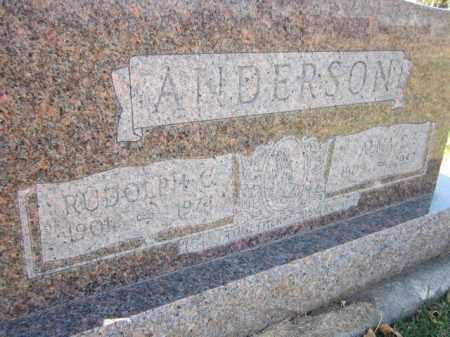 ANDERSON, RUDOLPH C. - Saunders County, Nebraska   RUDOLPH C. ANDERSON - Nebraska Gravestone Photos