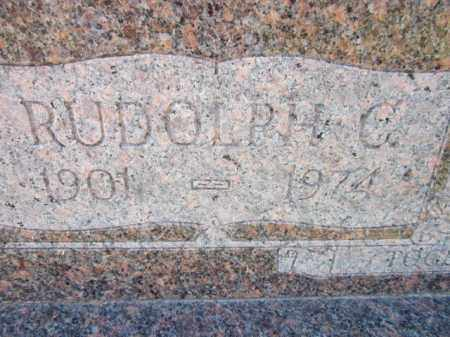 ANDERSON, RUDOLPH C. (CLOSE UP) - Saunders County, Nebraska | RUDOLPH C. (CLOSE UP) ANDERSON - Nebraska Gravestone Photos