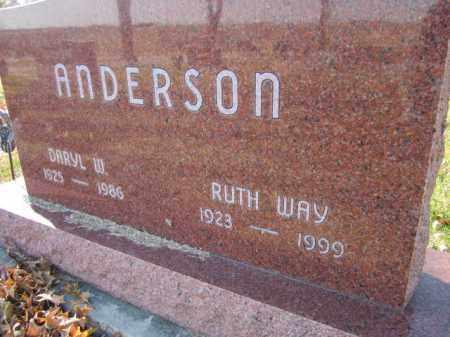 ANDERSON, RUTH - Saunders County, Nebraska | RUTH ANDERSON - Nebraska Gravestone Photos