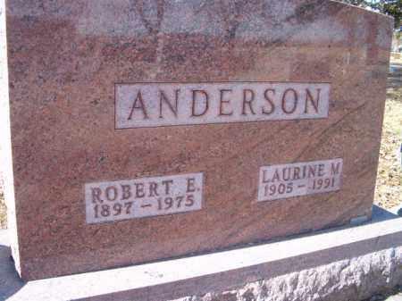 ANDERSON, LAURINE M. - Saunders County, Nebraska   LAURINE M. ANDERSON - Nebraska Gravestone Photos
