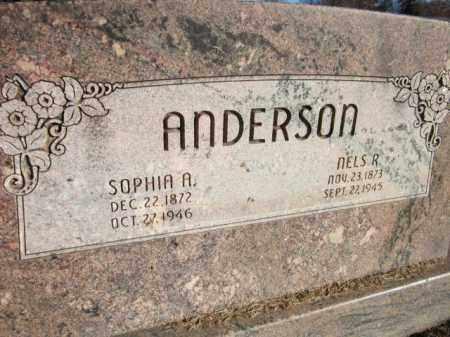 ANDERSON, SOPHIA A. - Saunders County, Nebraska | SOPHIA A. ANDERSON - Nebraska Gravestone Photos