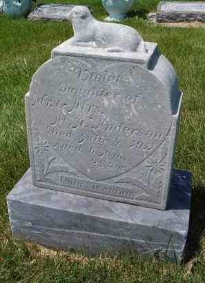ANDERSON, VIOLET - Saunders County, Nebraska | VIOLET ANDERSON - Nebraska Gravestone Photos