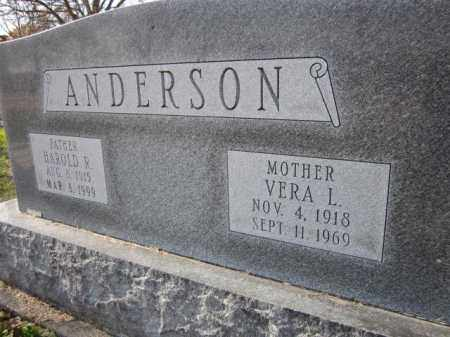 ANDERSON, VERA L. - Saunders County, Nebraska   VERA L. ANDERSON - Nebraska Gravestone Photos