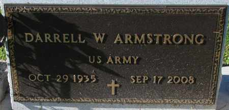 ARMSTRONG, DARRELL W. (MILITARY MARKER) - Saunders County, Nebraska | DARRELL W. (MILITARY MARKER) ARMSTRONG - Nebraska Gravestone Photos