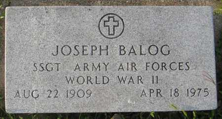 BALOG, JOSEPH - Saunders County, Nebraska | JOSEPH BALOG - Nebraska Gravestone Photos